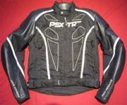 HEIN GERICKE PSX-TR GTX GORETEX LEATHER TEXTILE JACKET UK 38 Chest  EU 48